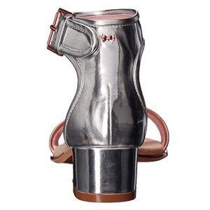 16f4519120eb5 Ted Baker Shoes - NEW Ted Baker RUZ Silver Rose Gold mid heel Sandal